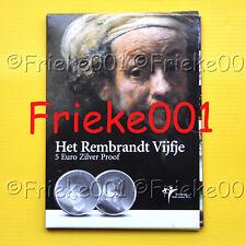 Nederland - Pays-Bas - 5 euro 2006 proof.(Rembrandt)