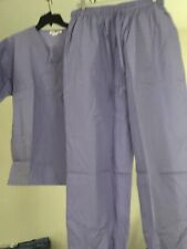 Expo scrubs set Unisex 2 pieces, Top and Bottom Color: Orchid size: 1Xl