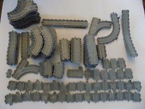 Lot 139 Thomas & Friends Take Along Take N Play Train Tracks Gray Plastic Parts