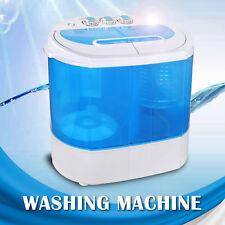 9lbs Mini Portable RV Dorm Compact Washing Machine Spin Dryer Laundry Washer