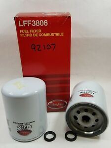 Lot of 6, Luber-finer Heavy Duty Fuel Filter LFF3806 For FORD B600, B700, C600