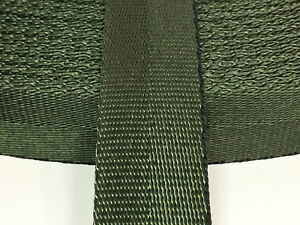 "1"" Inch MilSpec Military Webbing MIL-W-27265 4088 T17 CAMO GREEN PER YARD"