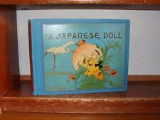 Old ADVENTURES OF A JAPANESE DOLL Book 1901 HENRY MAYER CHILDREN'S STORY JAPAN +