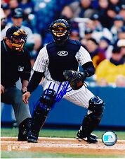 ALBERTO CASTILLO  NEW YORK YANKEES  ACTION SIGNED 8x10