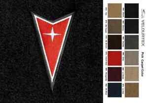 Lloyd Mats Pontiac Aztek Dart Emblem Velourtex Front Floor Mats (2001-2005)