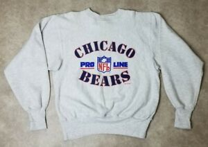 CHICAGO BEARS crewneck Pro Line sweatshirt NFL vtg 90s football Retro Classic
