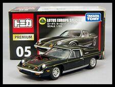 TOMICA PREMIUM 05 LOTUS EUROPA SPECIAL 1/59 TOMY DIECAST CAR