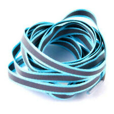 Pair Flat Reflective Runner Shoe Laces Safety Luminous Glowing Shoelaces Strings