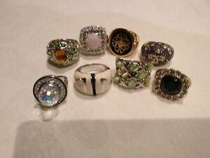 8 costume rings