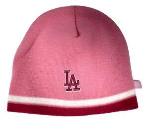 New Era Youth Girls MLB Los Angeles Dodgers Winter Knit Beanie Hat New