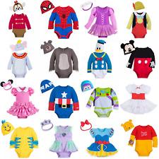 Disney Store Baby Costume Bodysuit & Hat Boys Girls Fancy Dress Romper Character