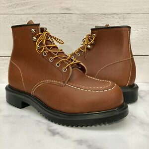 Red Wing Oil Resistant Long Wear Work Steel Toe Safety Boot 8249 Size 8 E3