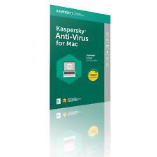 Kaspersky ANTI-VIRUS für MAC Lizenz für 1 Mac/1 Jahr - Download - Code per Email