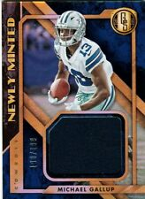 SP Michael Gallup 2018 Gold Standard Newly Minted JERSEY RC #/199!