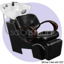 Shampoo Unit Backwash White Bowl Chair Salon Equipment - CM