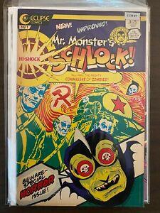 Mr. Monster's Schlock 1 Mid Grade Eclipse Comic CL78-97
