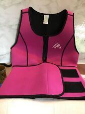 Ladies Neoprene Sauna Suit Tank Top Vest. Sz Med  Item 1114