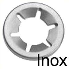 Interne dent Verrouillage Rondelles Poussez Clips 10X2,3 4,5,6,8,10,12,14/&16mm100PCE