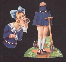 Franciska Gaal Vintage 1930s Die Cut Chocolate Card from Spain - Complete Figure