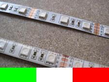 1m LED STRIP STRISCIA RGB 60LED ROSSO VERDE BLU