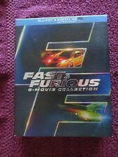 Fast  Furious: 6 Movie Collection (Blu-ray Disc, 2014, Digital Copy Not Included