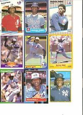 18 CARD PASCUAL PEREZ BASEBALL CARD LOT             24