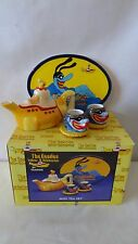 The Beatles 2000 Vandor Yellow Submarine Mini Tea Set MIB #J97