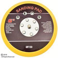 """6"""" Hook and Loop Face Sanding Pad Air Pneumatic Sander Grinder Tool"""
