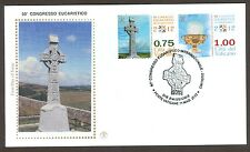 Vatican City Sc# 1503-4, 50th Eucharistic Congress - Dublin, First Day Cover