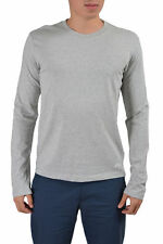 Dolce & Gabbana D&G Men's Gray Crewneck Long Sleeve T-Shirt US L IT 52