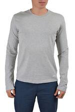 Dolce & Gabbana D&G Men's Gray Crewneck Long Sleeve T-Shirt US L IT 52