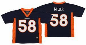 Outerstuff NFL Kids Denver Broncos Von Miller #58 Mid-Tier Jersey