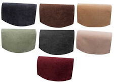 Chenille Single Chair Back Plain Soft Touch Furniture Settee Cover Antimacassar