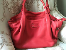 KATE SPADE-New York-Marian Baxter Street Large NWOT CORAL Handbag-AUTHENTIC