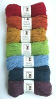 Elsebeth Lavold SILKY WOOL - Your Choice 50+ Colors DK 50g Yarn Skein Silk Nylon