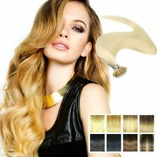Quality Nano Ring Tip woman hair Highlight Traceless Human Hair Extensions UK