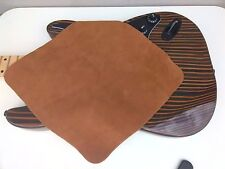 Polishing Cloth brown microfiber suede cleaning for guitar bass acoustic XLarge
