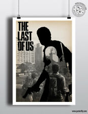 THE LAST OF US - Minimalist Poster, Minimal Game Posteritty Art Print Gaming