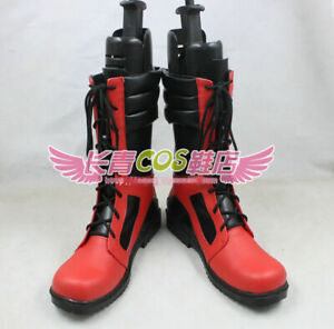 HOT Sale X-men Deadpool Cosplay Boots Red Shoes Custom Made New