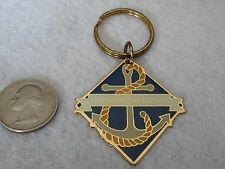 """San Diego""  California  Nautical Key Chain      by Gift Creations  1990's"