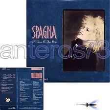 """IVANA SPAGNA """"I WANNA BE YOUR WIFE"""" RARE CDsingle 1988 - ITALO"""