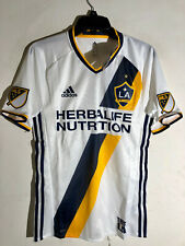 Adidas MLS Los Angeles Galaxy Authentic Team Jersey White sz L