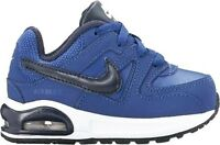 NIKE AIR MAX COMMAND FLEX LTR TD scarpe bambino blu sportive sneakers shoes kids