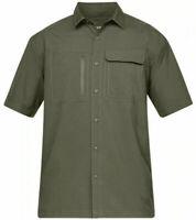 Under Armour Mens UA Tac Hunter Short Sleeve Shirt 1327453 Marine Green Sz L NWT