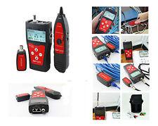Testeur Pro pour cable Réseau RJ45 RJ11 USB BNC - Mesure/Cartographie/Repère