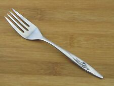 Oneida Lasting Rose Salad Fork Deluxe VGC Stainless Flatware Silverware
