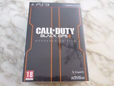 Call of Duty COD Black Ops 2 II Edition Collector Hardened VF PS3 NEUF
