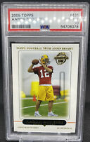 2005 Topps Aaron Rodgers RC Rookie Card #431 Packers PSA 10 GEM MINT