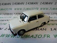 PL68 VOITURE 1/43 IXO IST déagostini POLOGNE :  TRABANT 1.1 limousine