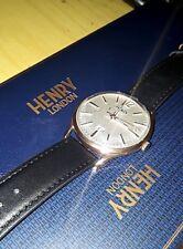 Orologio Henry London Richmond uomo vintage style nuovo